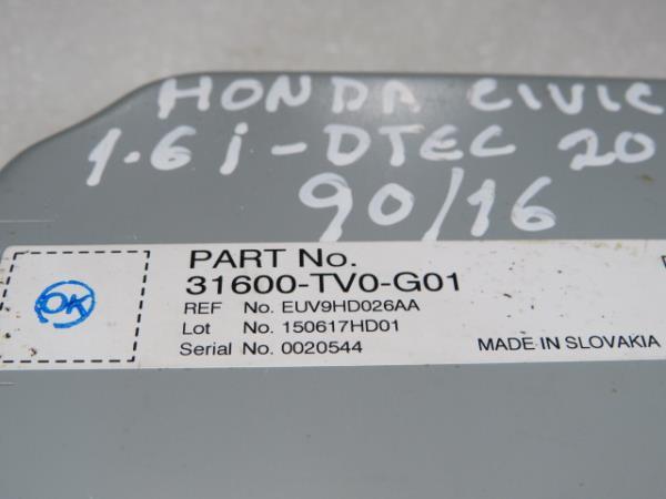 Modulo da Antena HONDA CIVIC IX Tourer (FK) | 14 -