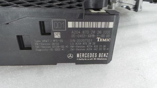 Fecho Mala MERCEDES-BENZ C-CLASS T-Model (S204) | 07 - 14