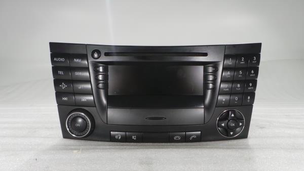 Auto-rádio (GPS) MERCEDES-BENZ E-CLASS (W211) | 02 - 09