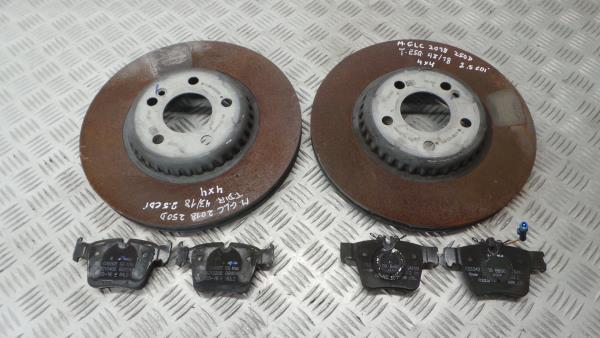 Discos Travão com Calços MERCEDES-BENZ GLC (X253) | 15 -
