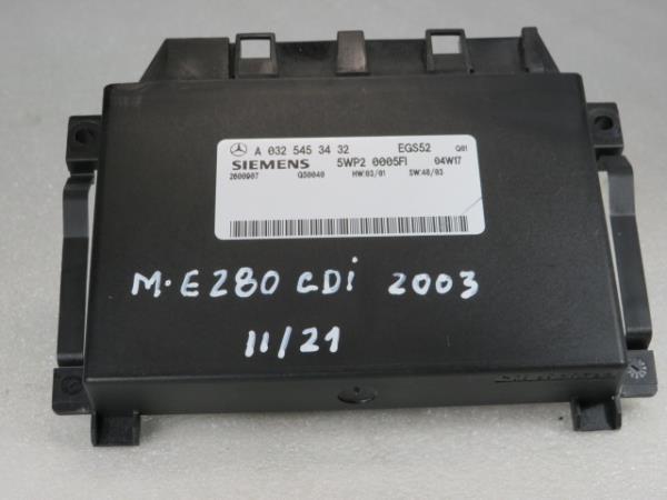 Modulo Confort MERCEDES-BENZ E-CLASS (W211) | 02 - 09