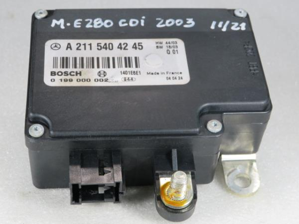 Modulo / Rele MERCEDES-BENZ E-CLASS (W211) | 02 - 09