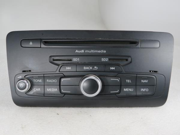 Auto-rádio (CD) AUDI A1 (8X1, 8XK) | 10 - 18