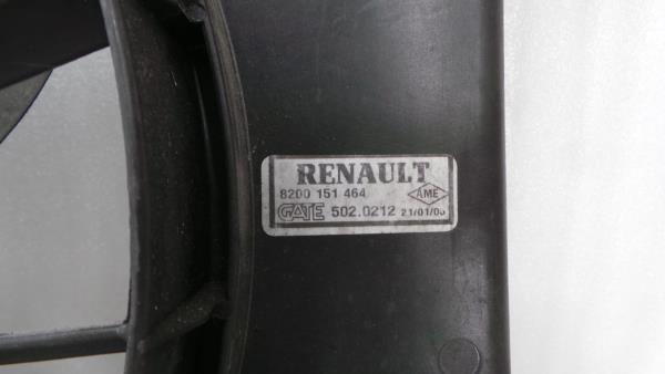 Termoventilador RENAULT MEGANE II (BM0/1_, CM0/1_) | 01 - 12