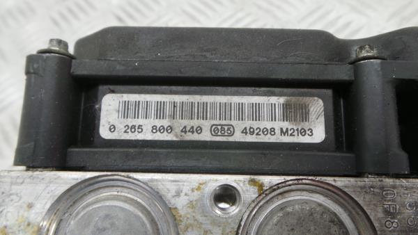 Modulo do ABS RENAULT MEGANE II (BM0/1_, CM0/1_)   01 - 12