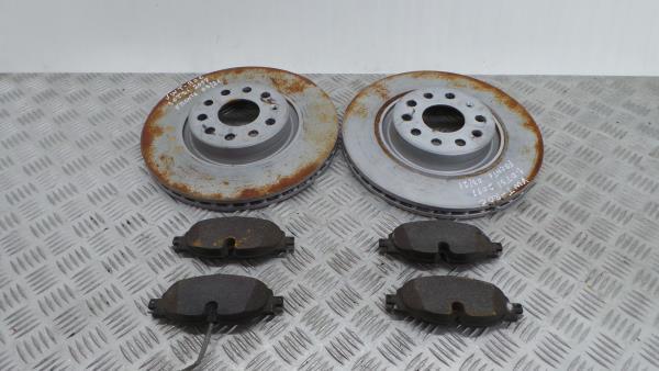 Discos Travão com Calços VOLKSWAGEN T-ROC (A11) | 17 -