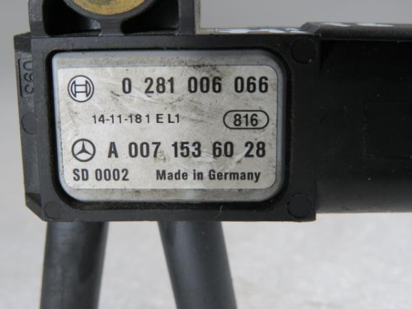 Sensor de Pressao de Gases MERCEDES-BENZ CLA Coupé (C117)   13 - 19