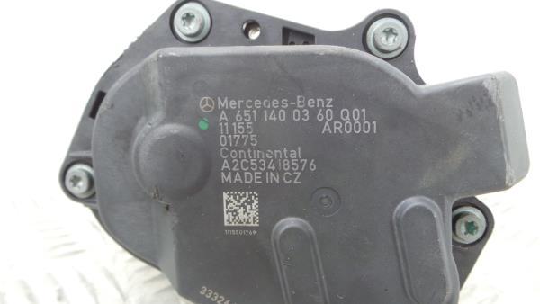 Valvula EGR MERCEDES-BENZ C-CLASS (W204) | 07 - 15