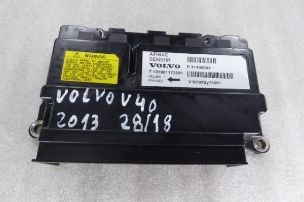 Centralina do Airbag VOLVO V40 Hatchback (525, 526)   12 -