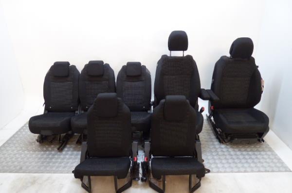 Conjunto de bancos / Sem Airbags PEUGEOT 5008 (0U_, 0E_) | 09 - 17