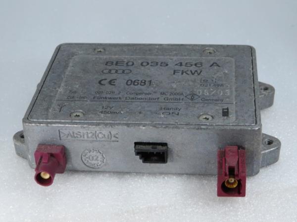 Amplificador AUDI A4 Cabriolet (8H7, B6, 8HE, B7)   02 - 09