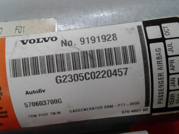 Conjunto / Kit de Airbags VOLVO S60 I (384) | 00 - 10