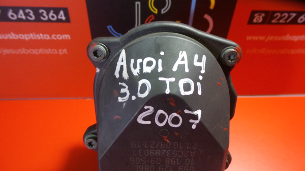 Borboleta da Admissão AUDI A4 (8EC, B7) | 04 - 08