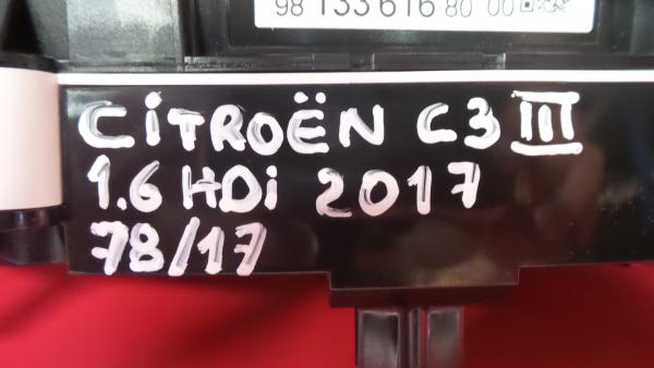 Quadrante CITROEN C3 III (SX) | 16 -