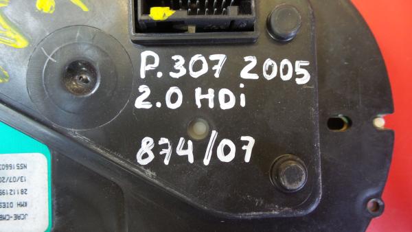 Quadrante PEUGEOT 307 SW (3H) | 02 - 09