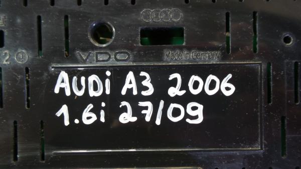 Quadrante AUDI A3 (8P1) | 03 - 13