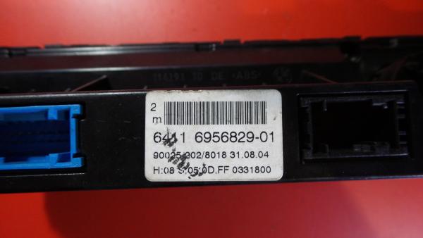 Comando Sofagem / Climatronic BMW 6 Cabriolet (E64)   04 - 10