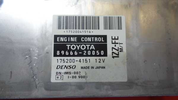 Centralina do Motor | ECU TOYOTA CELICA Coupé (_T23_) | 99 - 06