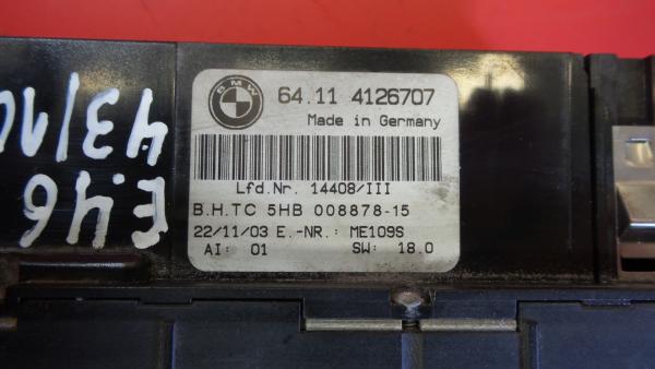 Comando Sofagem / Climatronic BMW 3 (E46) | 97 - 05