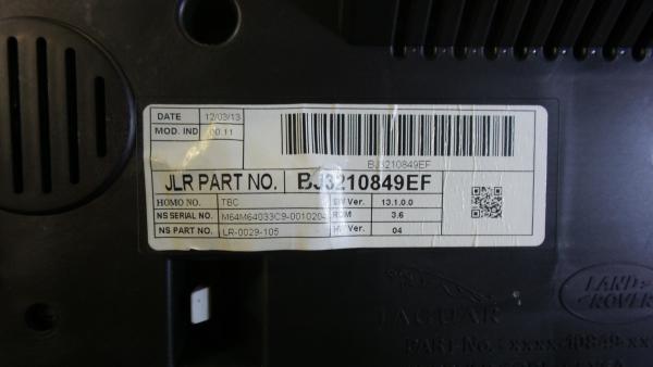 Centralina do Motor   ECU LAND ROVER RANGE ROVER EVOQUE (L538)   11 -