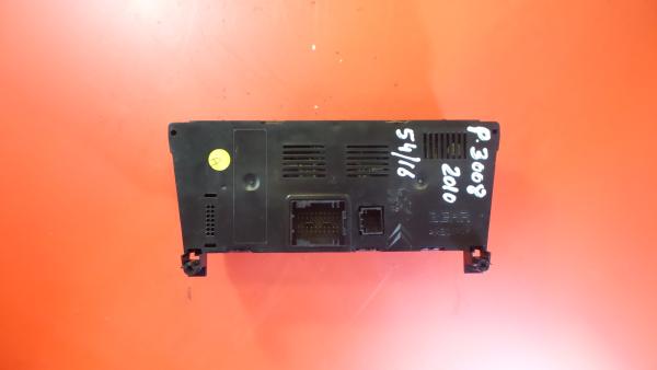 Comando Sofagem / Climatronic PEUGEOT 3008 Veículo multiuso (0U_) | 09 - 17