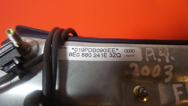Airbag Banco Frente Esquerdo AUDI A4 (8E2, B6)   00 - 05