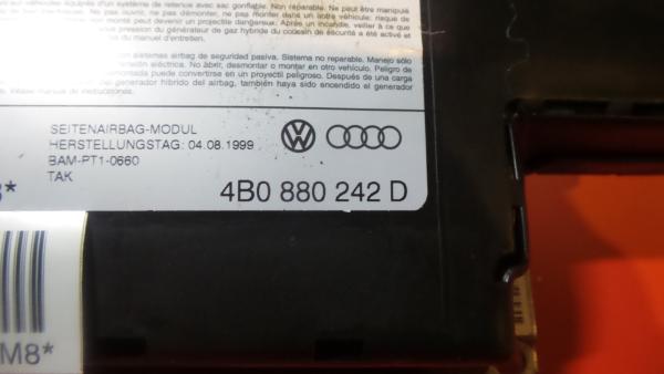 Airbag Banco Frente Direito AUDI A6 (4B2, C5) | 97 - 05