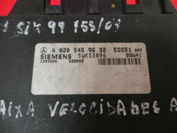 Centralina Caixa Velocidades   ECU MERCEDES-BENZ SLK (R170)   96 - 04