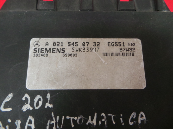 Centralina Caixa Velocidades   ECU MERCEDES-BENZ C-CLASS (W202)   93 - 00