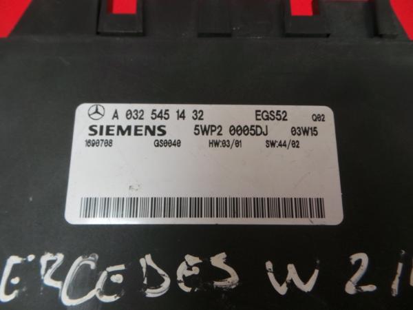 Centralina Caixa Velocidades   ECU MERCEDES-BENZ E-CLASS (W211)   02 - 09