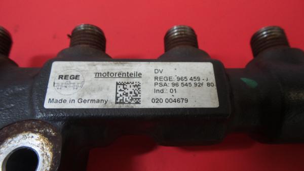 Regua / Rampa de Injetores PEUGEOT 3008 Veículo multiuso (0U_) | 09 - 17