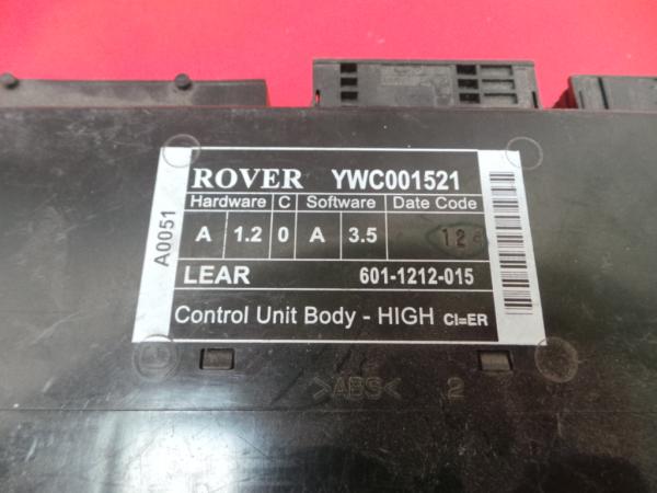 Modulo Confort ROVER 75 (RJ)   99 - 05