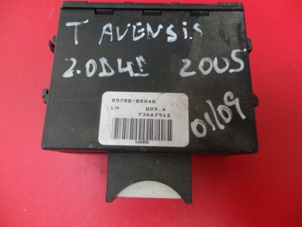 Modulo Imobilizador TOYOTA AVENSIS (_T25_) | 03 - 08