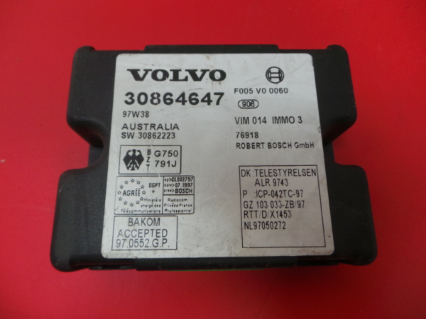 Modulo Imobilizador VOLVO V40 Combi (645) | 95 - 04