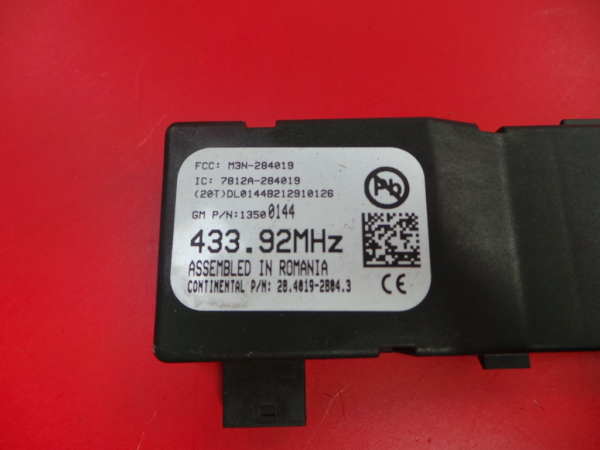 Modulo / Rele OPEL ASTRA J (P10)   09 - 15