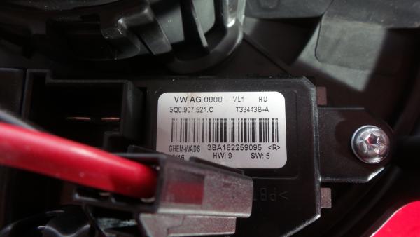 Motor da Sofagem VOLKSWAGEN GOLF VII Variant (BA5, BV5) | 13 -