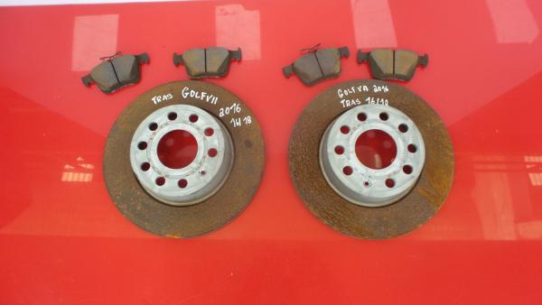 Discos Travão com Calços VOLKSWAGEN GOLF VII Variant (BA5, BV5)   13 -
