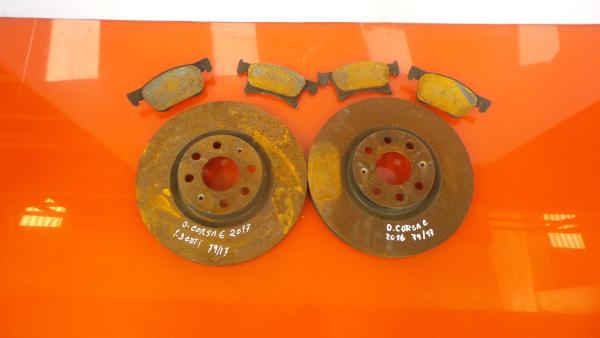 Discos Travão com Calços OPEL CORSA E (X15) | 14 -