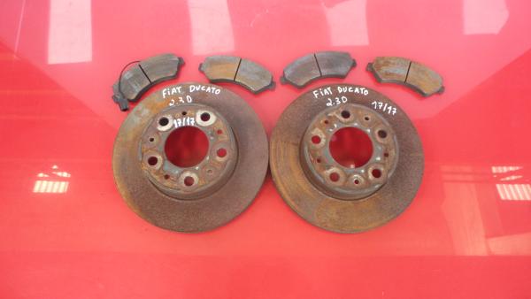 Discos Travão com Calços FIAT DUCATO Caixa (250_, 290_)   06 -