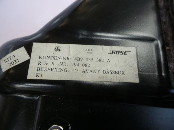 Subwoofer AUDI ALLROAD (4BH, C5) | 00 - 05