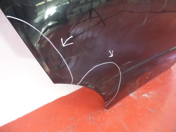 Porta Tras Direita HONDA CIVIC VIII Hatchback (FN, FK) | 05 -