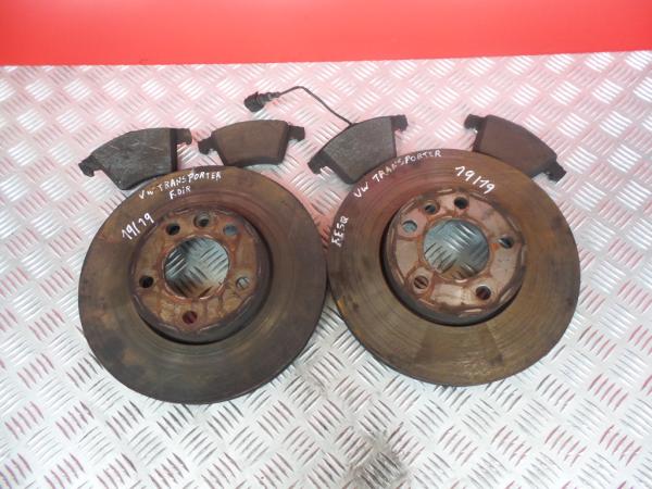 Discos Travão com Calços VOLKSWAGEN TRANSPORTER / CARAVELLE VI Autocarro (SGB, SGG, SGJ, SGC   15 -