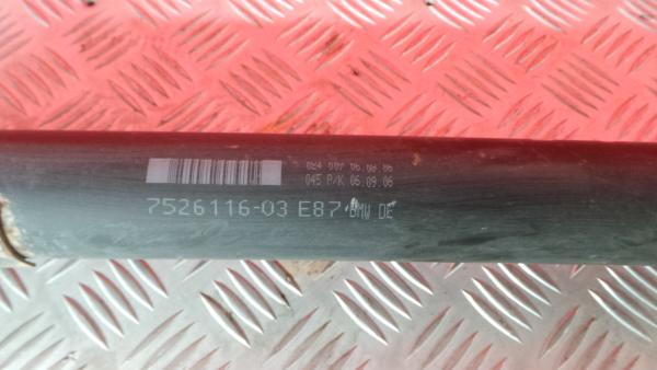 Transmissão Central BMW 1 (E87) | 03 - 13