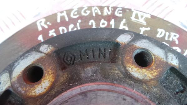 Discos Travão com Calços RENAULT MEGANE IV Sporter (K9A/M/N_)   16 -