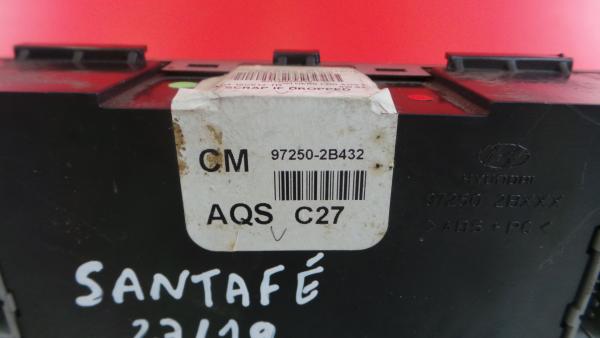Comando Sofagem / Climatronic HYUNDAI SANTA FÉ II (CM) | 05 - 15