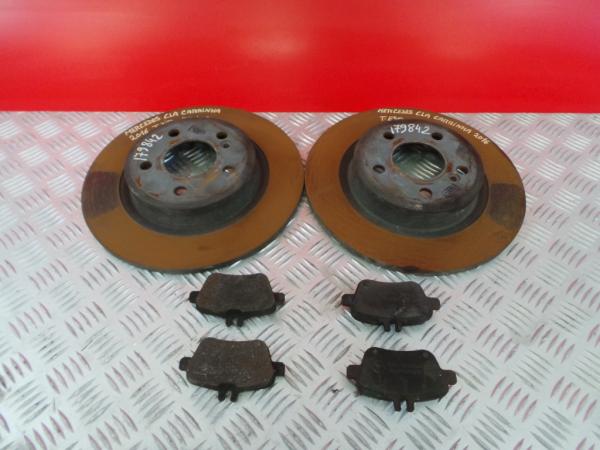 Discos Travão com Calços MERCEDES-BENZ CLA Shooting Brake (X117) | 15 - 19