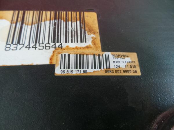 Deposito Filtro Particulas PEUGEOT 508 I (8D_) | 10 - 18