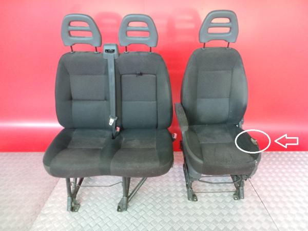 Conjunto de bancos / Sem Airbags CITROEN JUMPER Caixa   06 -