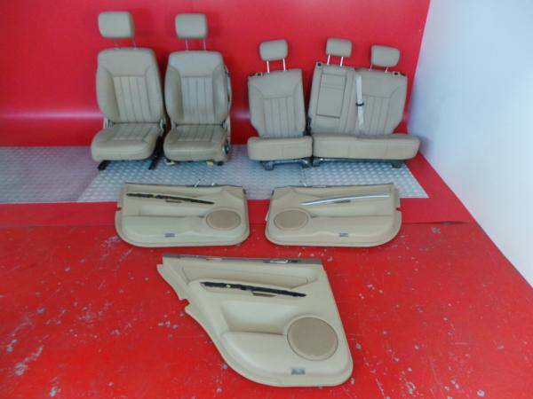 Conjunto de bancos / Sem Airbags MERCEDES-BENZ M-CLASS (W164)   05 - 12