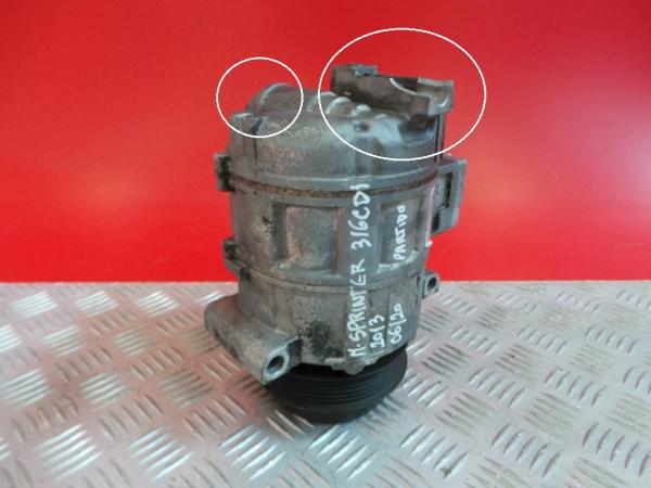 Compressor do Ar Condicionado MERCEDES-BENZ SPRINTER 3,5-t Caixa (906)   06 -
